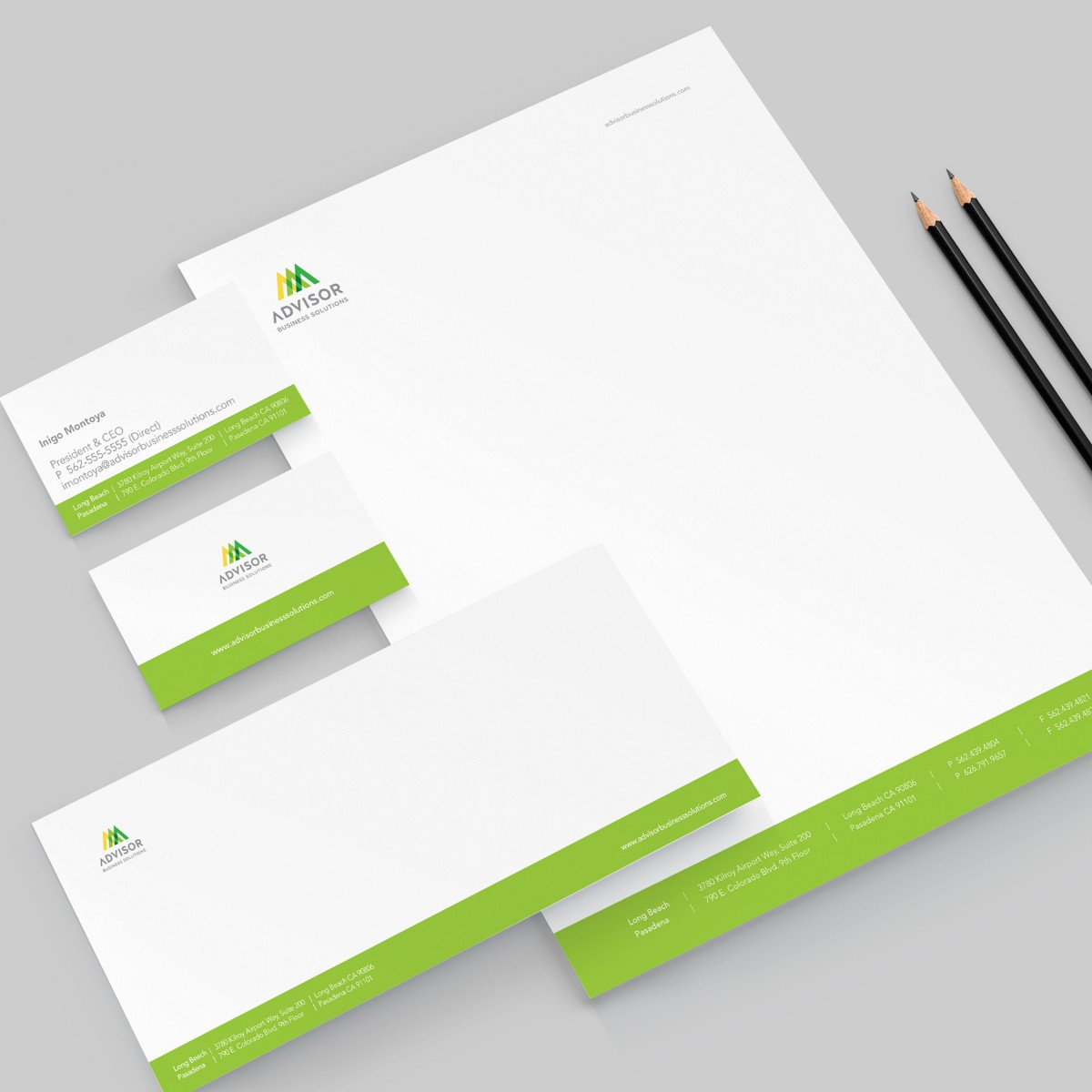 Advisor Business Solutions stationery system
