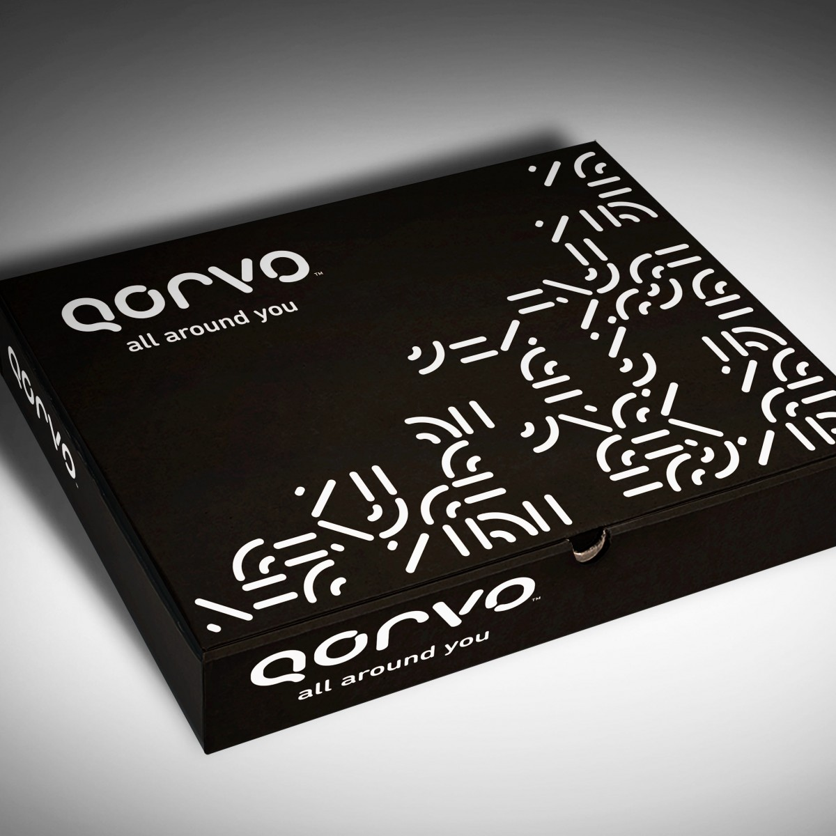 Qorvo sample test kit box