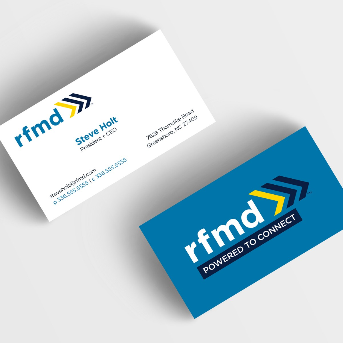 RFMD business cards