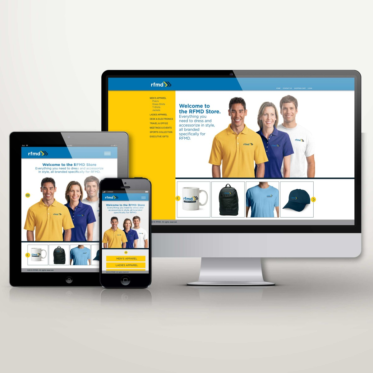 RFMD responsive internal store site