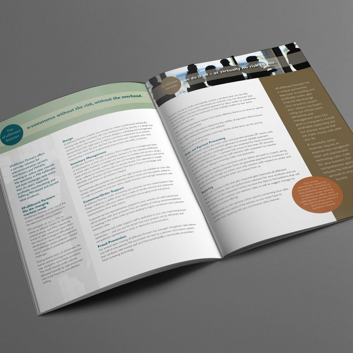 eFulfillment Corporate brochure interior