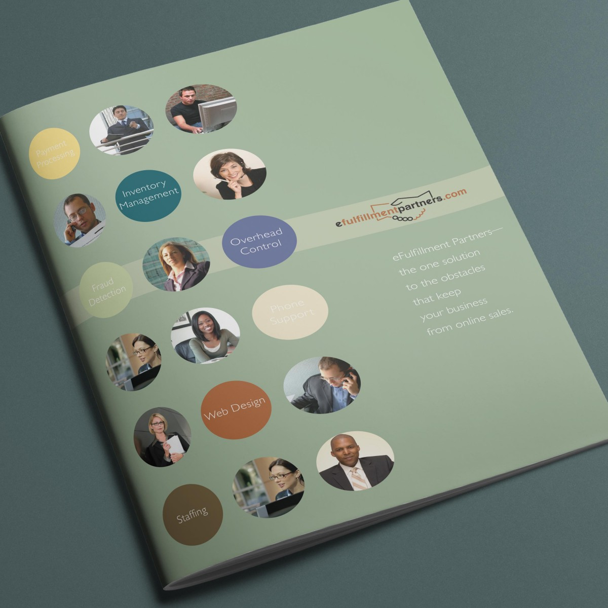 eFulfillment Corporate brochure cover