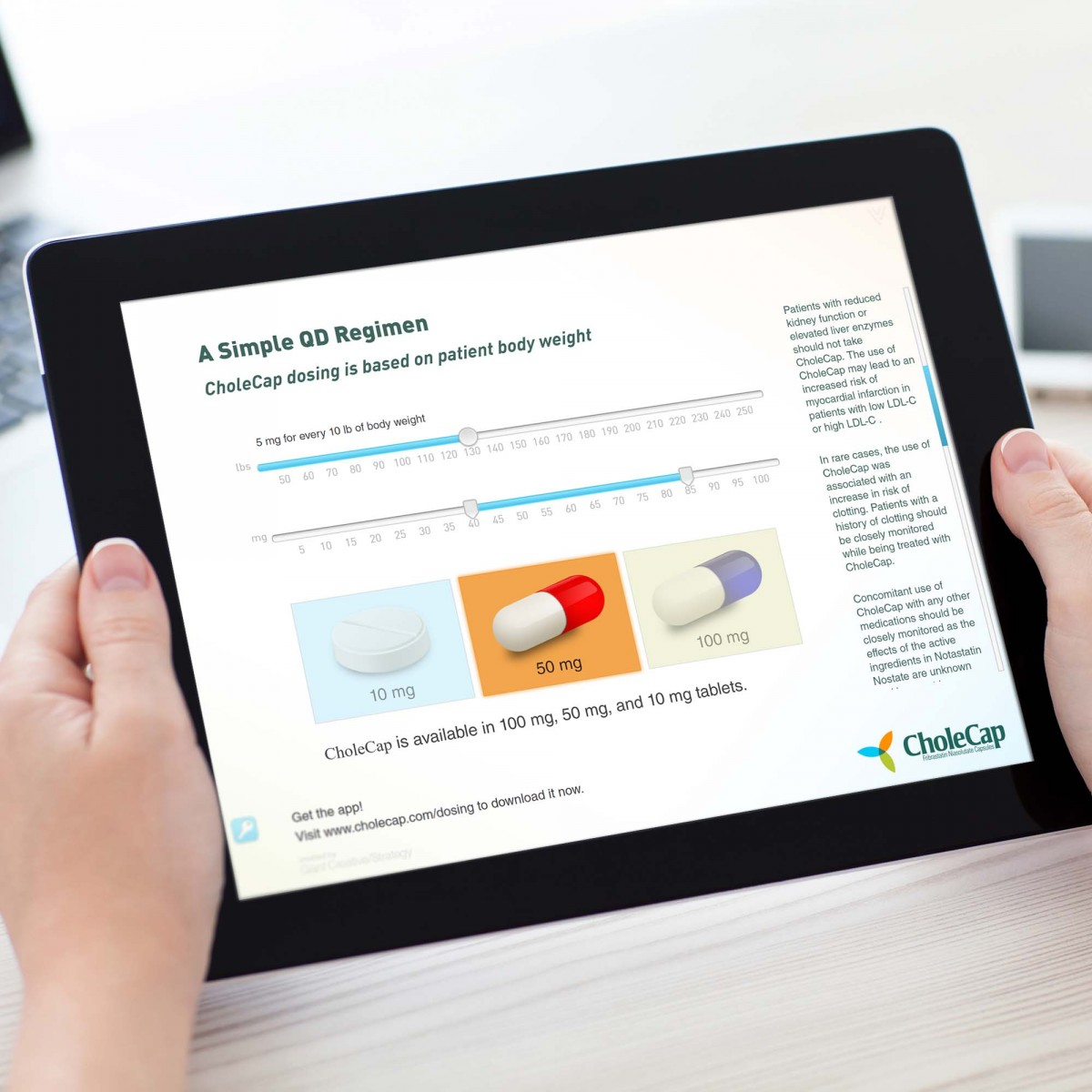 Interactive Pharmaceutical iPad Salesforce Sales Aid